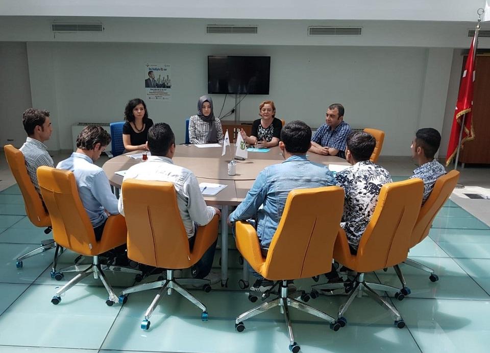 Beyoğlu'nda İş Kulübü Faaliyetleri Devam Ediyor