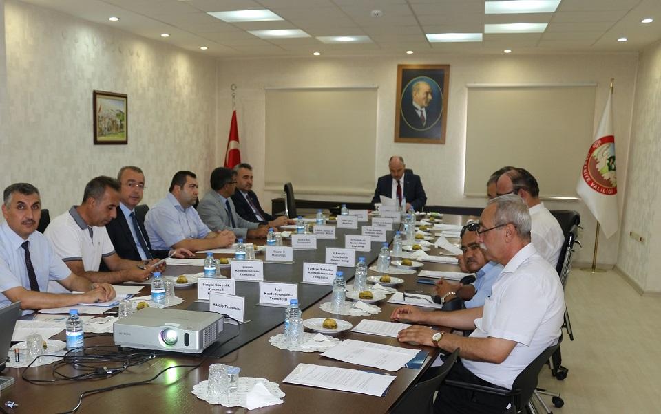 Osmaniye İl İstihdam ve Mesleki Eğitim Kurulu Toplandı