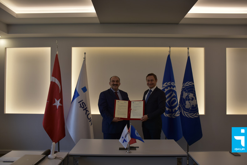 Cooperation Protocol Signed Between İŞKUR and ILO