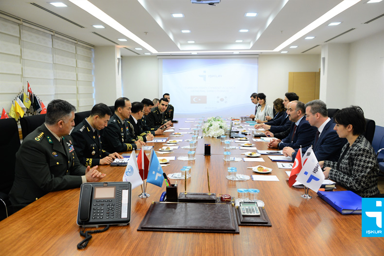 South Korean Delegation visits İŞKUR