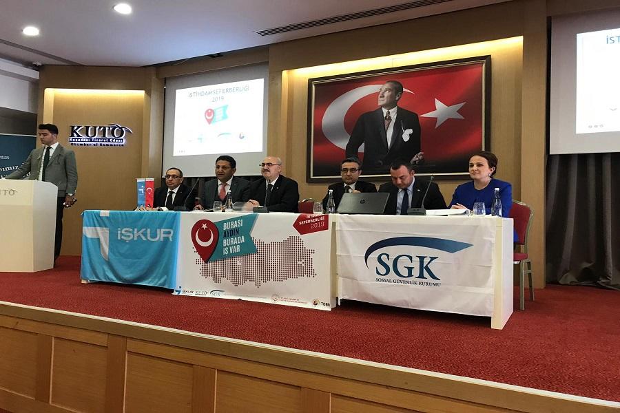 """Aydın'da """"Burası Türkiye, Burada İş Var"""" Sloganıyla İşverenlerimizi Bilgilendirmeye Devam Ediyoruz"""