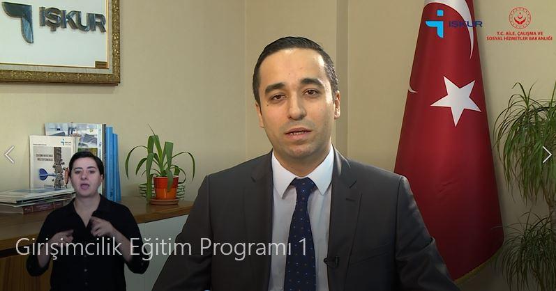 Girişimcilik Eğitim Programı 1 Videosu