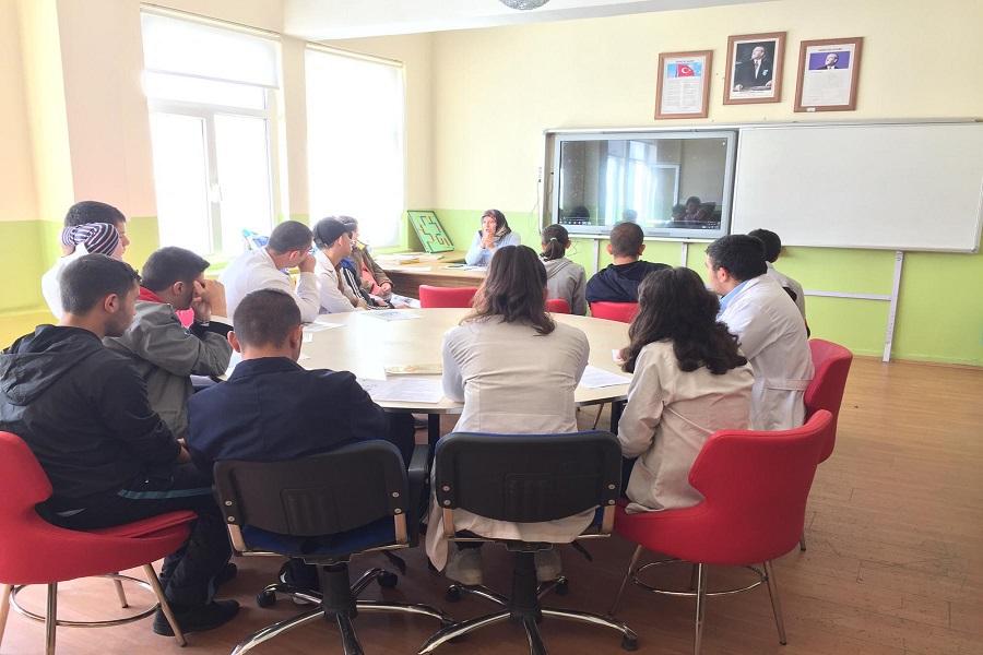 Yozgat'ta Engelliler Okulunda İş Kulübü Eğitimlerimiz Devam Ediyor