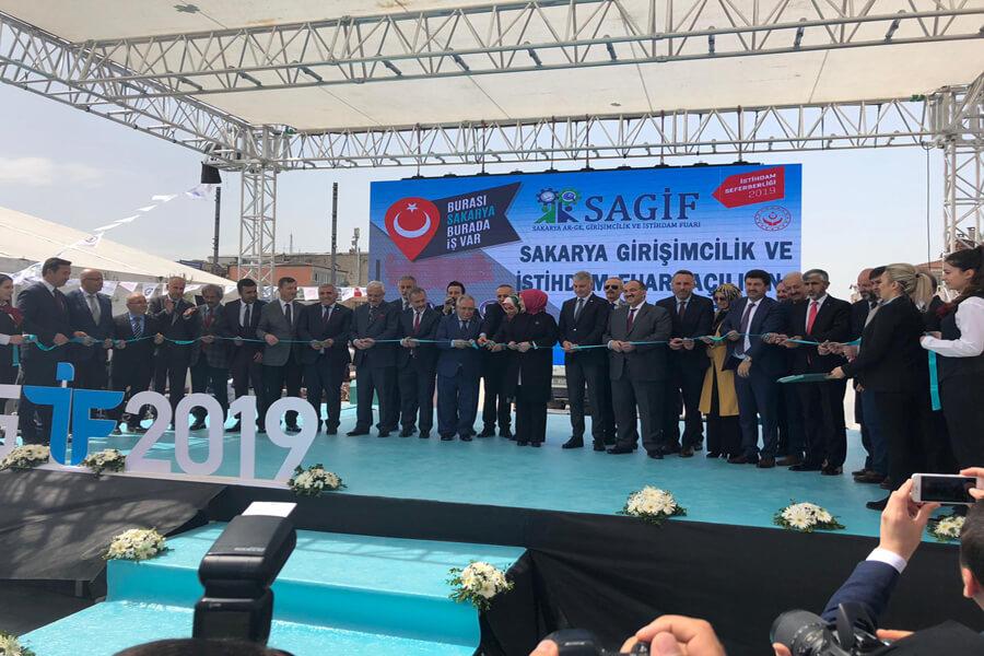 Genel Müdürümüz Cafer Uzunkaya SAGİF 2019'un Açılışını Gerçekleştirdi