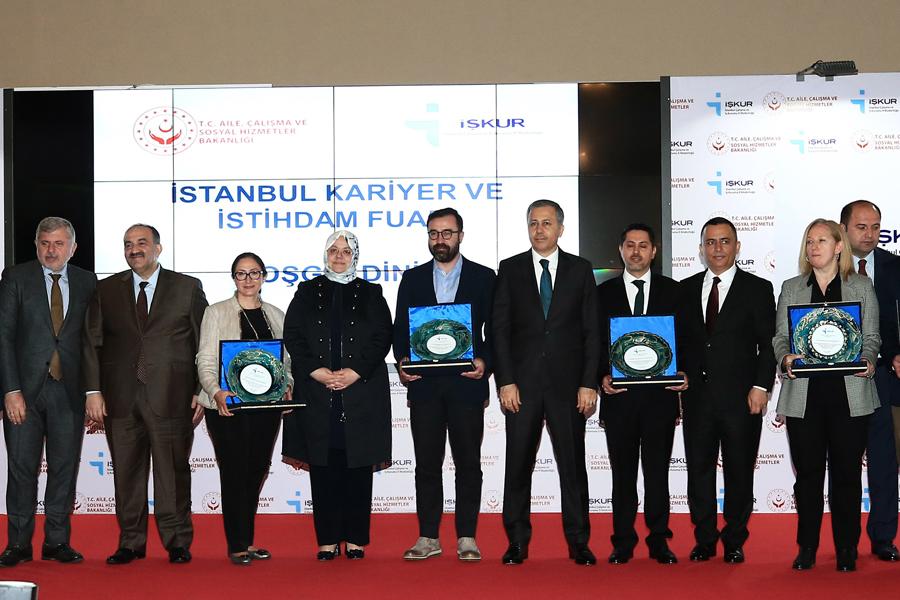 İstanbul Kariyer Ve İstihdam Fuarı Ziyarete Açıldı