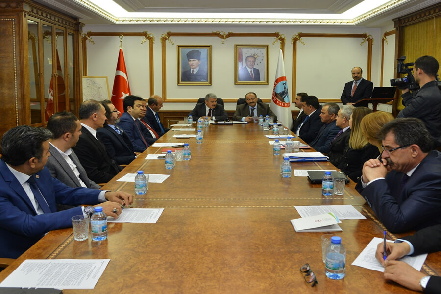 Genel Müdürümüz Cafer Uzunkaya Kırşehir İİMEK Toplantısına Katıldı