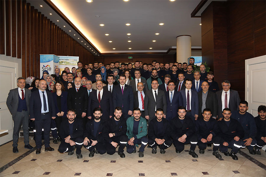 Sivas'ta ESTAŞ Firmasıyla 120 Kişilik İş Birliği Protokolü İmzalandı