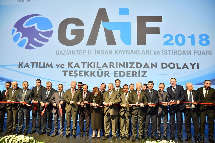 Gaziantep 6. İnsan Kaynakları Ve İstihdam Fuarı Açıldı