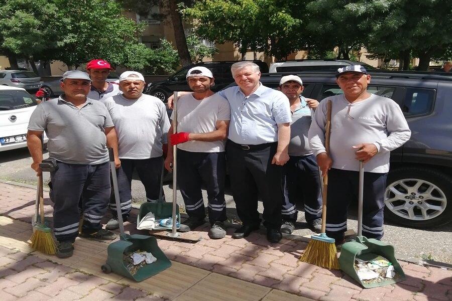 Gaziantep İl Müdürümüz TYP Çalışanlarını Ziyaret Etti