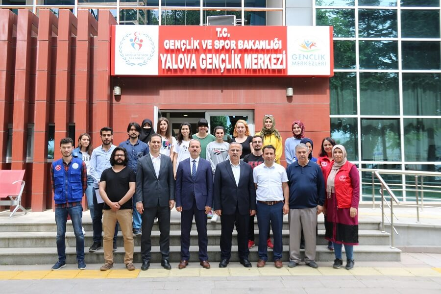 Yalova'da Mesleki Eğitim Kursumuzun Sertifika Töreni Düzenlendi