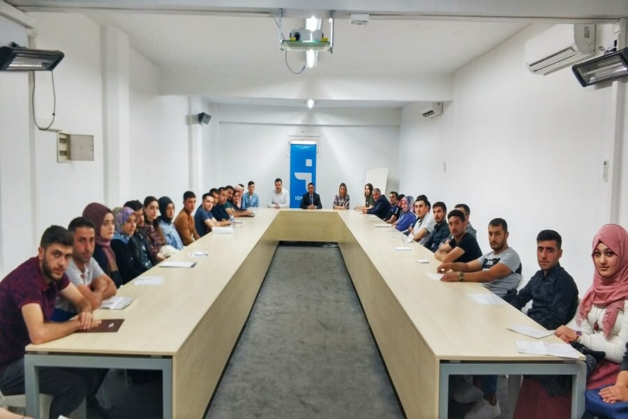 Erzurum'da İşbaşı Eğitim Programı Başlattık