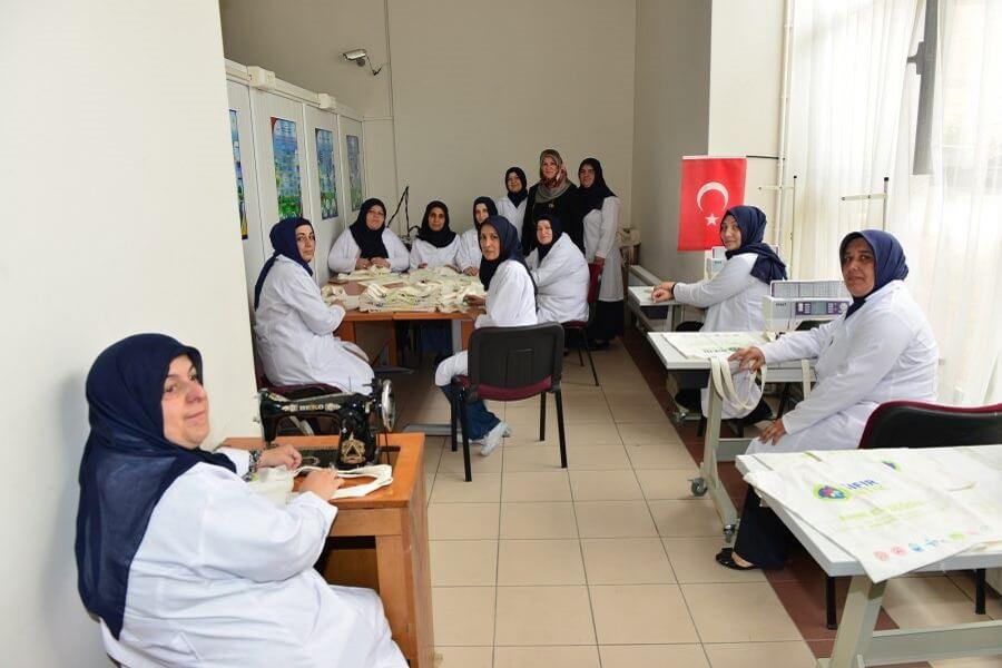 Bursa'da Sıfır Atık Projesine Anne Desteği