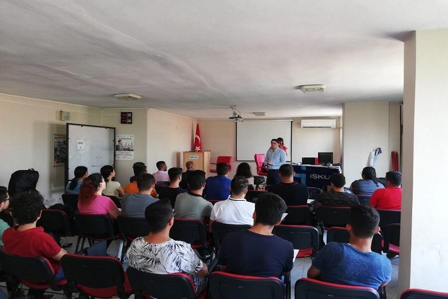 Mersin'de İş başı Eğitim Programımız Başladı