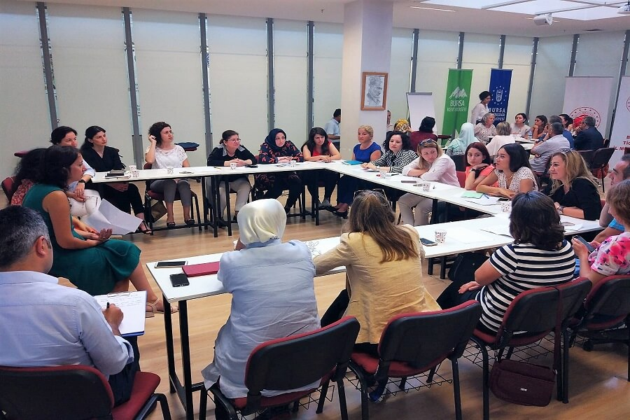 Bursa Kadın Kooperatiflerinin Güçlendirilmesi Çalıştayına Katıldık