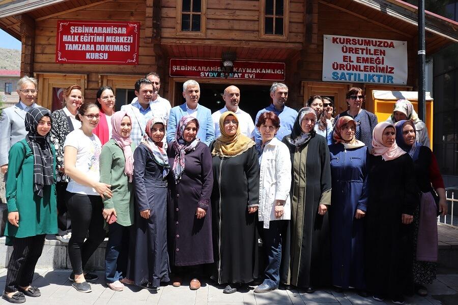 Şebinkarahisar'da Mesleki Eğitim Kursu Başlattık