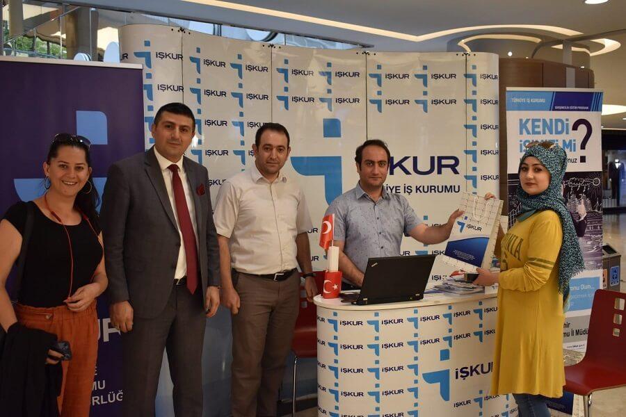 Nevşehir İl Müdürlüğümüz AVM'de Bilgilendirme Standı Açtı