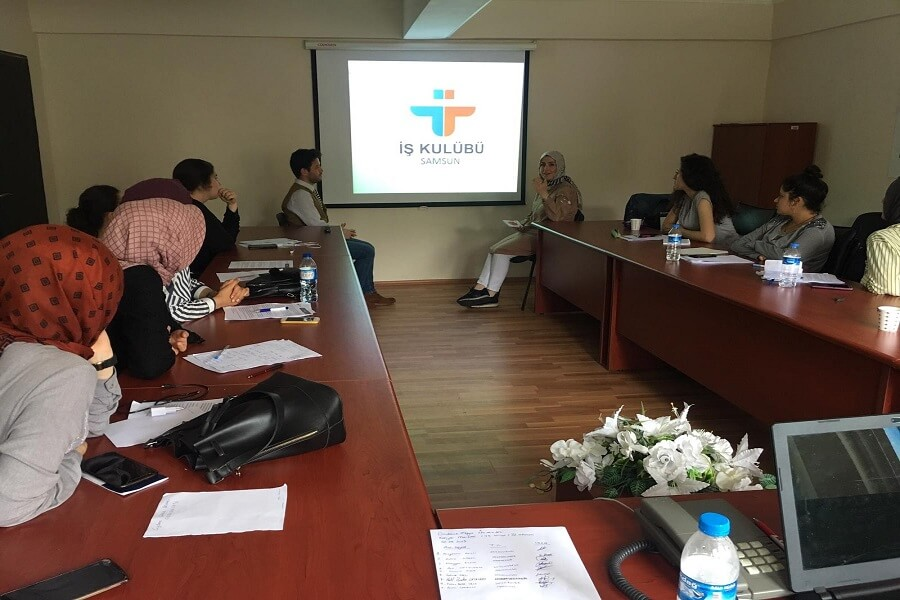 Ondokuz Mayıs Üniversitesi Kariyer Merkezi İş Kulübü Eğitimlerimiz Tamamlandı