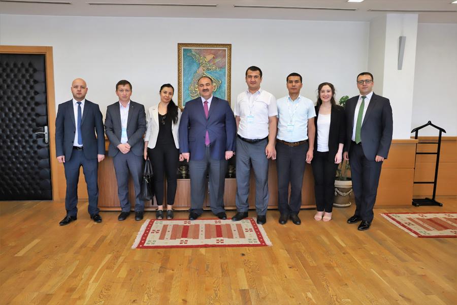 Özbekistan Heyeti Kurumumuzu Ziyaret Etti
