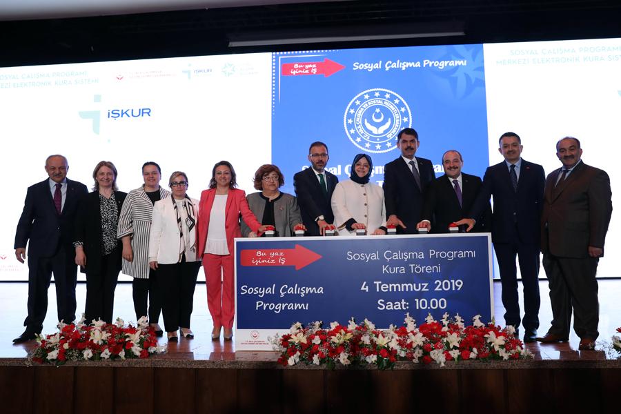 Sosyal Çalışma Programına Katılacak Öğrenciler Kurayla Belirlendi