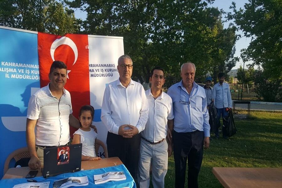 Kahramanmaraş'da Bağımlılığa Hayır Gençlik Festivali Etkinliğinde Stant Açıldı