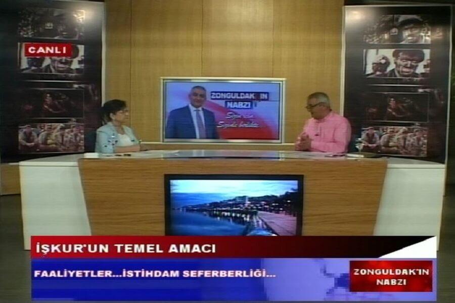 Zonguldak'ın Nabzı Programına İŞKUR İl Müdürü Konuk Oldu