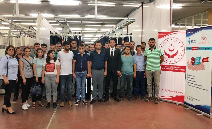 Osmaniye'de İşbaşı Eğitim Programlarımızı Ziyaret Ettik