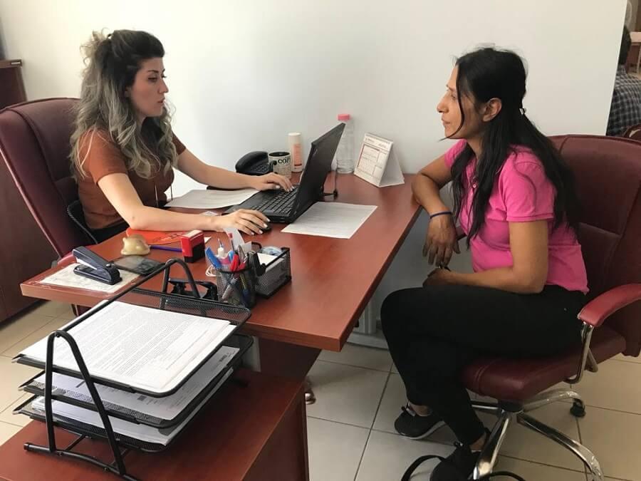 Çerkezköy Hizmet Merkezimizde Girişimcilik Eğitim Programı Mülakatlarını Yaptık
