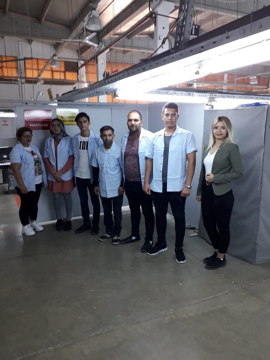 Yozgat'ta Garanti Giyim ile İşbaşı Eğitim Programı Protokolü İmzaladık