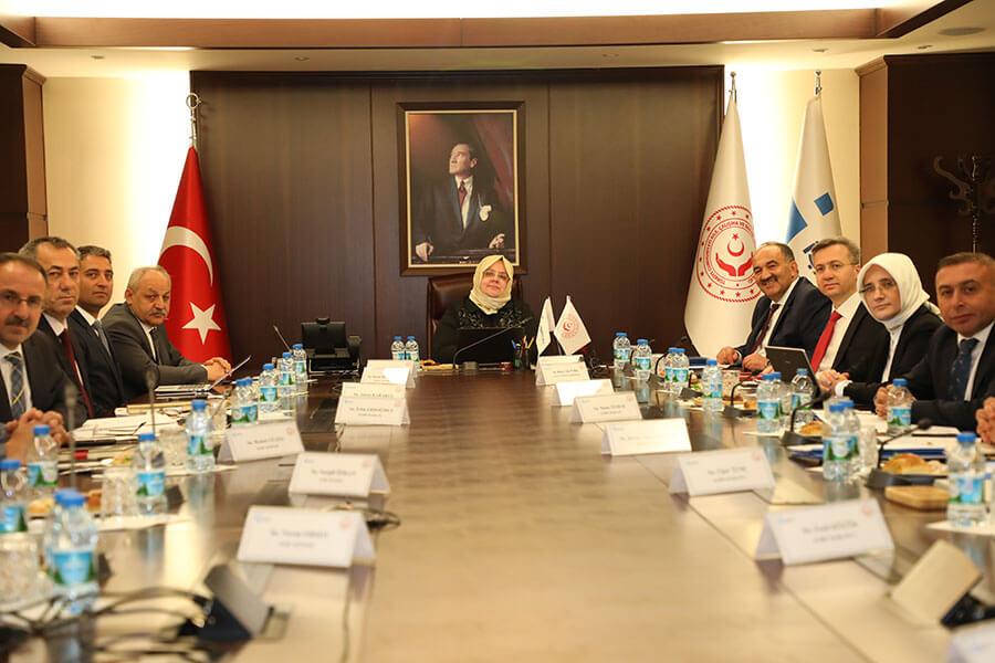 Bakanımız Selçuk 81 İl Müdürlüğü Yöneticilerimizle Görüştü