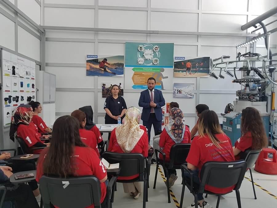 Çankırı'da İşbaşı Eğitim Programı Düzenledik