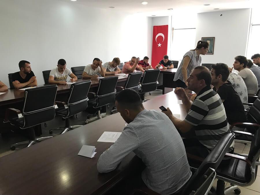 Tekirdağ'da 15 Kişilik İş Başı Eğitim Programı Başlattık