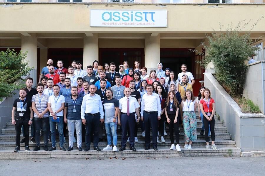 Giresun'da İşbaşı Eğitim Programı Başlattık