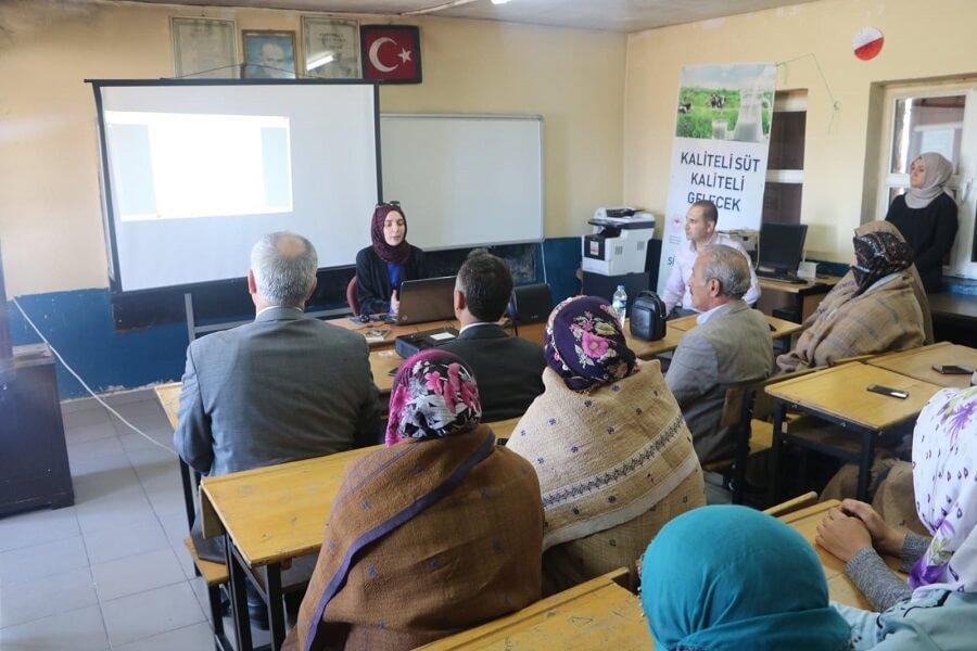 Erzurum'da Mesleki Eğitim Kursunu Ziyaret Ettik