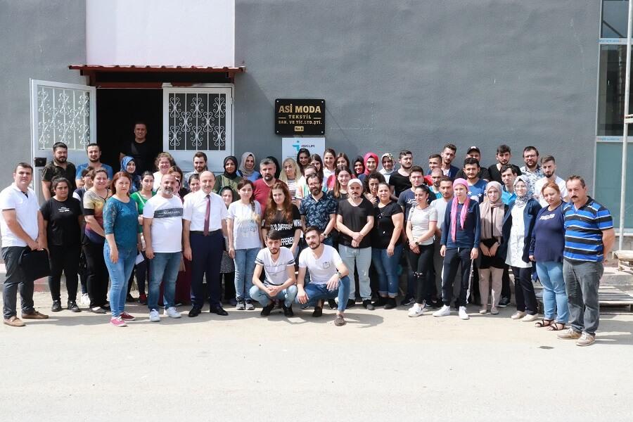 Giresun'da Mesleki Eğitim Kursumuzu Başlattık