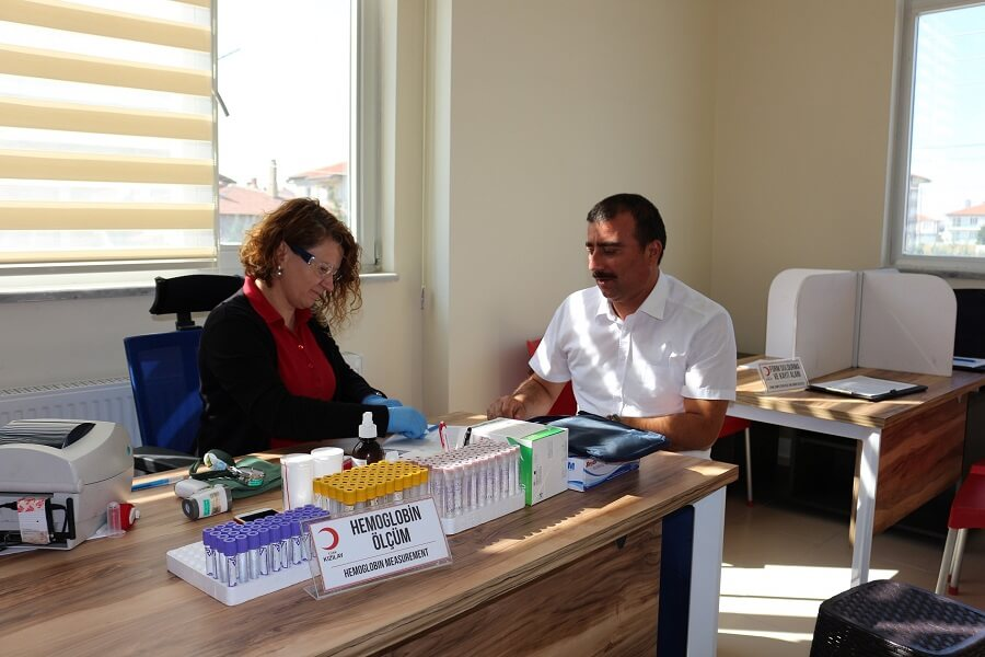 Afyonkarahisar İl Müdürlüğümüzden Kan Bağışı Kampanyasına Destek