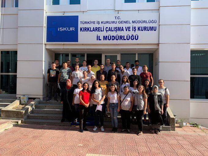 Kırklareli'nde İşbaşı Eğitim Programı Protokolü İmzaladık
