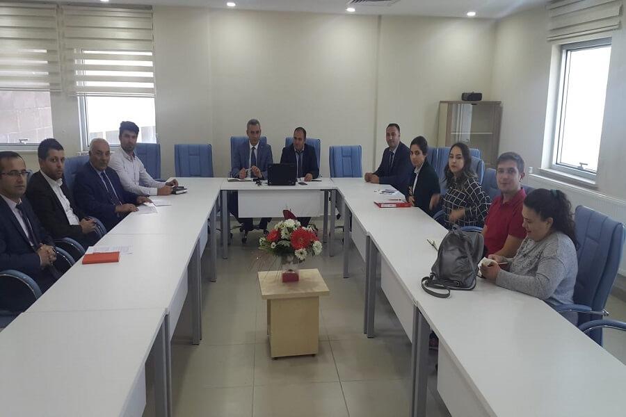 Bitlis'te Mesleki Bilgi Rehberlik ve Danışmanlık Hizmetleri Toplantısı Yapıldı