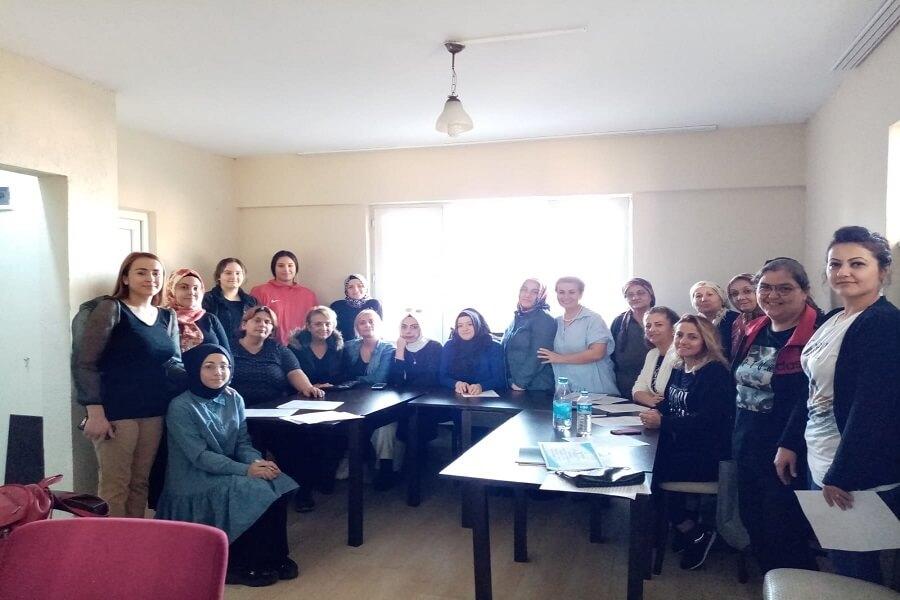 Zonguldak'ta Mesleki Eğitim Kursu Başlattık