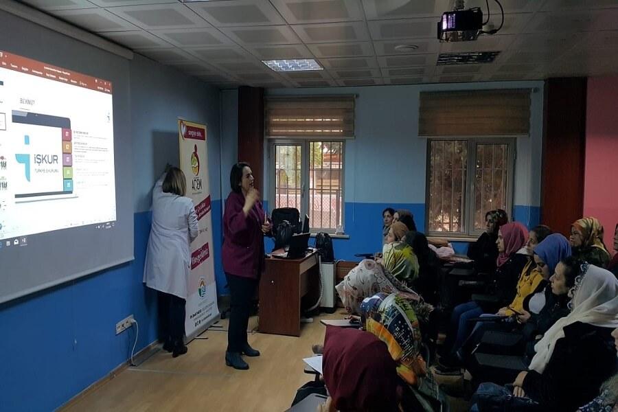 İstanbul'da Finansal Okuryazarlık ve Kadınların Ekonomik Güçlenmesi Semineri Verdik