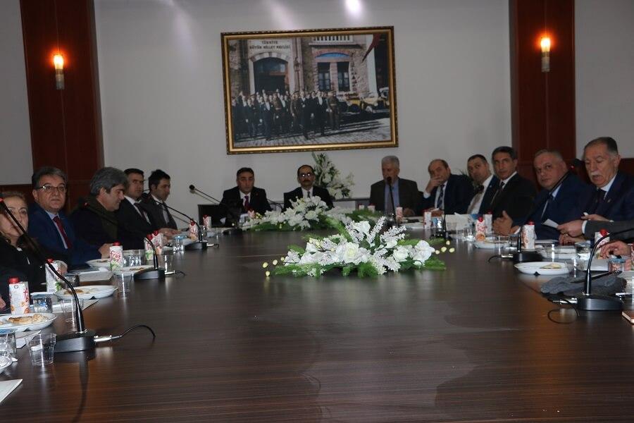 Erzurum'da İl İstihdam ve Mesleki Eğitim Kurulu Toplantısı Yapıldı