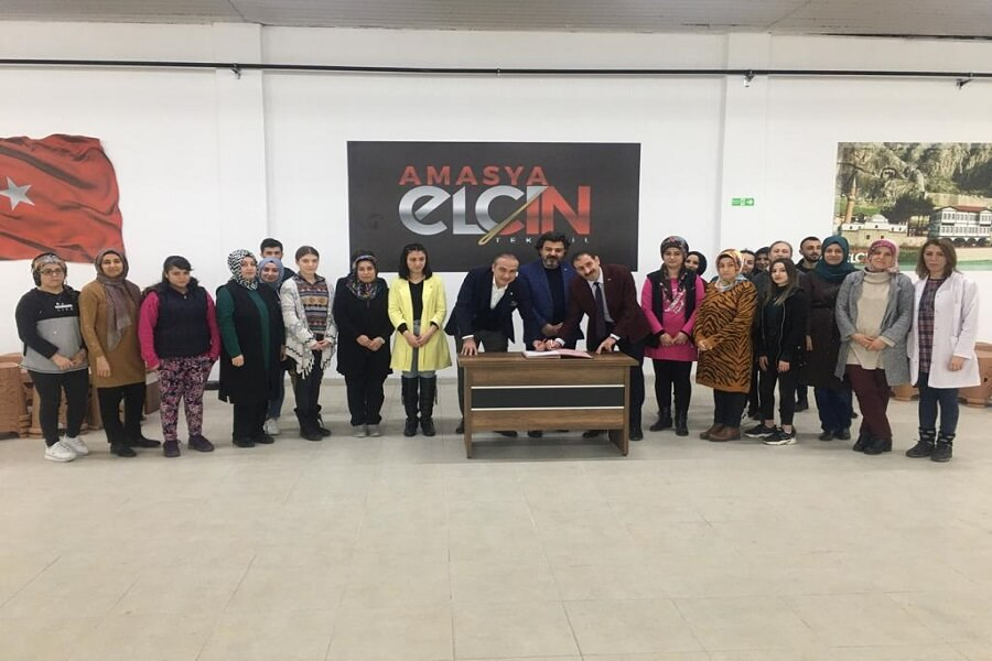 Amasya'da MEGİP Kursumuzu Ziyaret Ettik