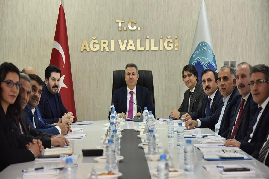 Ağrı'da İl İstihdam ve Mesleki Eğitim Kurulu Toplantısı Gerçekleştirildi