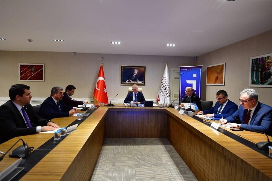 Gaziantep'te İl İstihdam ve Mesleki Eğitim Kurulu Toplantısı Yapıldı
