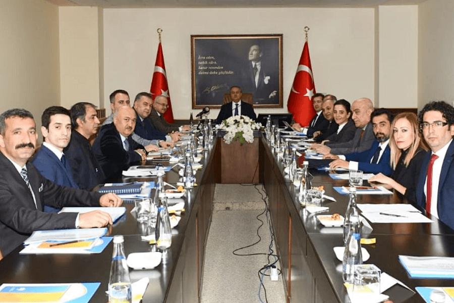 Mersin'de İl İstihdam ve Mesleki Eğitim Kurulu Toplantısı Yapıldı