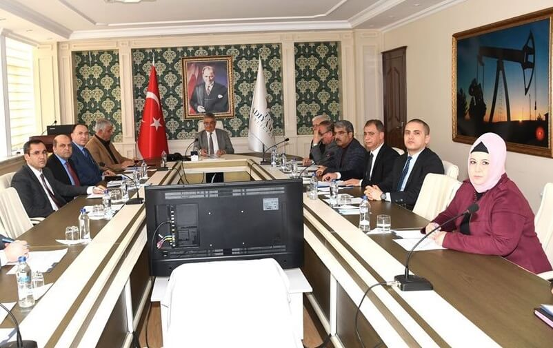 Adıyaman İl İstihdam ve Mesleki Eğitim Kurulu Toplantısı Yapıldı