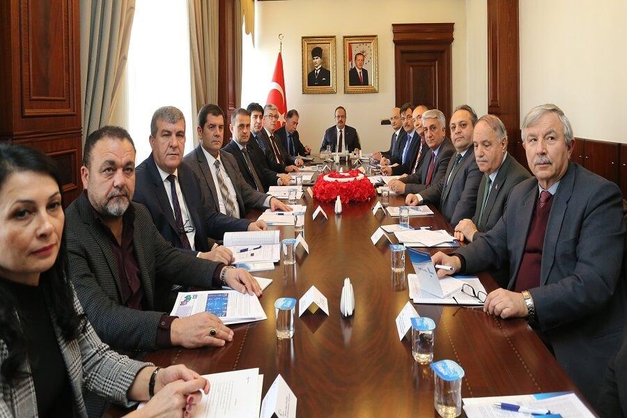 Bursa'da İl İstihdam ve Mesleki Eğitim Kurulu Toplantısı Gerçekleştirildi