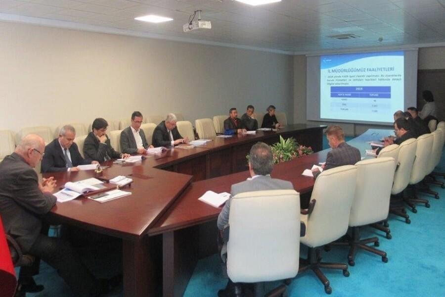Yozgat'ta İl İstihdam ve Mesleki Eğitim Kurulu Toplantısı Yapıldı