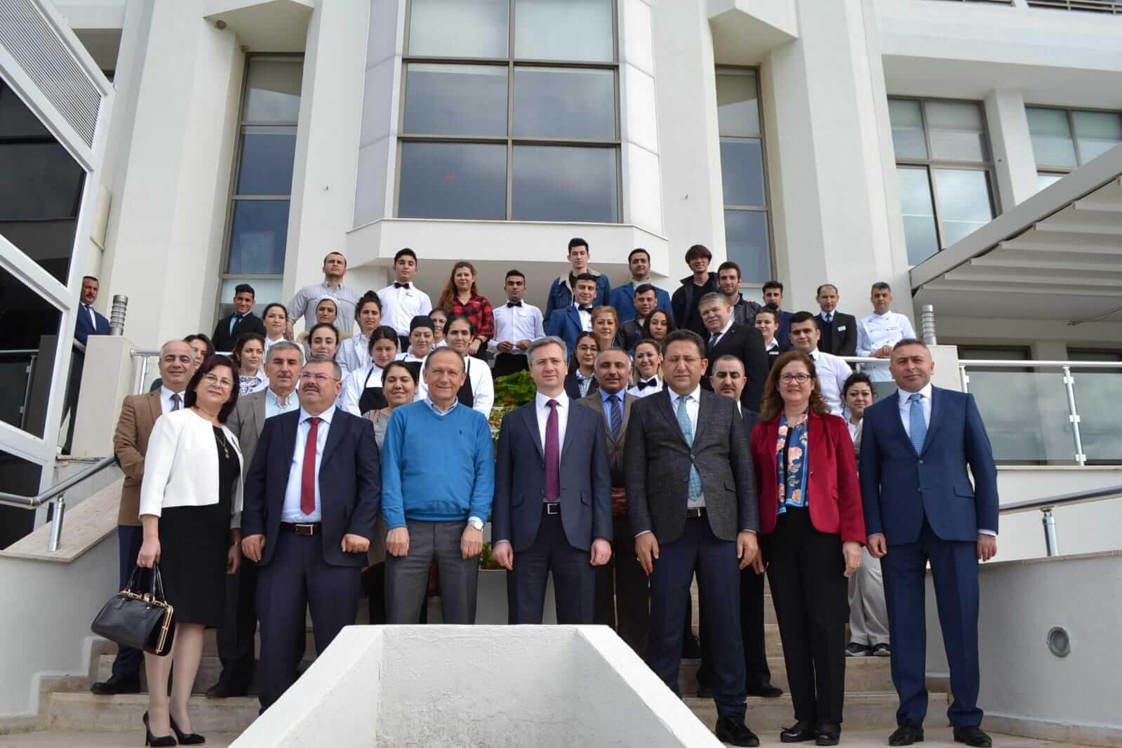 Genel Müdür Vekilimiz Aktürk Aydın'da Kursiyerleri Ziyaret Etti