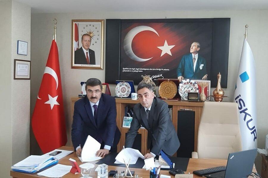 Erzurum'da İŞKUR Hizmet Noktası Protokolü İmzaladık
