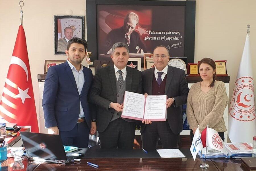 Kars'ta İŞKUR Hizmet Noktası Protokolü İmzaladık